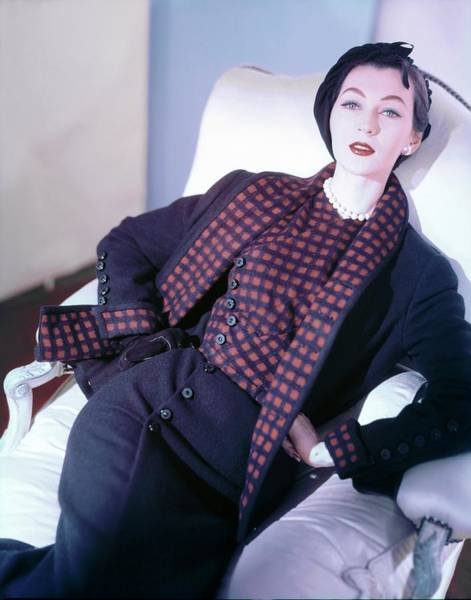 Wall Art - Photograph - Dovima Wearing Sophie Of Saks by Horst P. Horst
