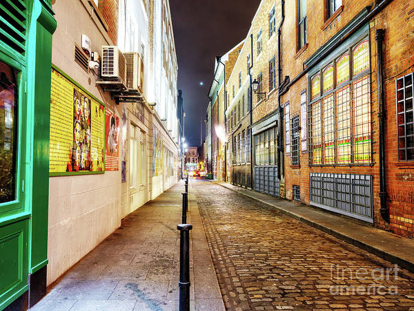 Wall Art - Photograph - Down Price's Lane At Night In Dublin by John Rizzuto