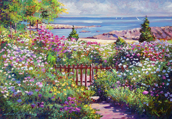 Painting - Down To The Ocean by David Lloyd Glover