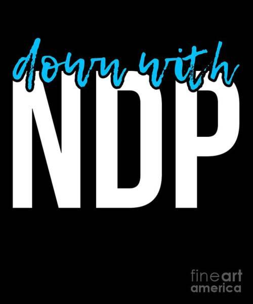 Digital Art - Down With Ndp Nancy Pelosi by Flippin Sweet Gear
