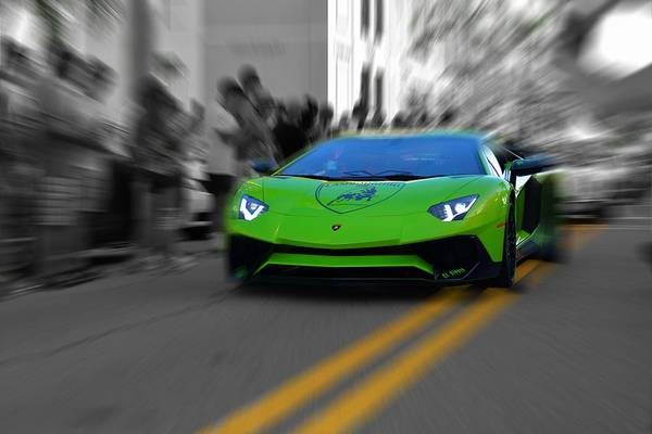 Photograph - Down With The Sickness Lambo by Don Columbus