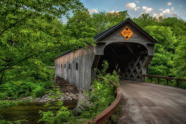 Photograph - Downers Covered Bridge - Vermont by Joann Vitali