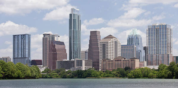 Wall Art - Photograph - Downtown Austin In Summer by Austinmirage