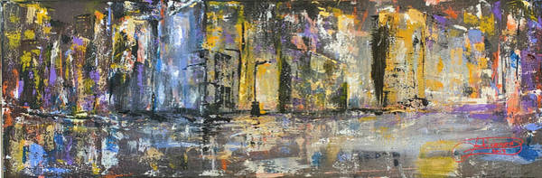 Painting - Downtown Blues Uptown Jazz  by Jack Diamond