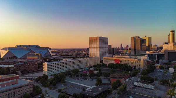Photograph - Downtown Heart by Mike Dunn