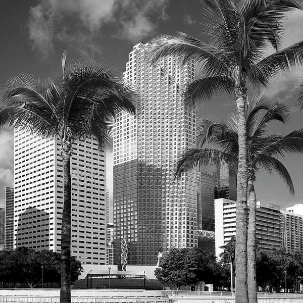 Photograph - Downtown Miami 071802 by Rudy Umans