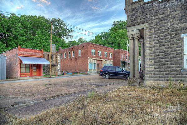 Wall Art - Photograph - Downtown Morrison Missouri  by Larry Braun
