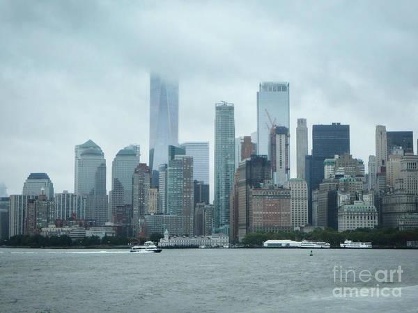 Photograph - Downtown New York City by Judy Hall-Folde