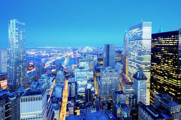 Photograph - Downtown New York City by Tony Shi Photography