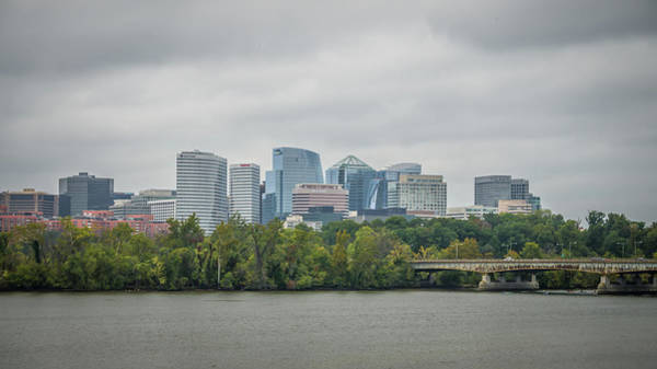 Photograph - Downtown Of Arlington, Virginia And Potomac River by Alex Grichenko
