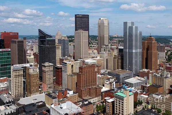 Wall Art - Photograph - Downtown Pittsburgh, Pa by Bill Cobb