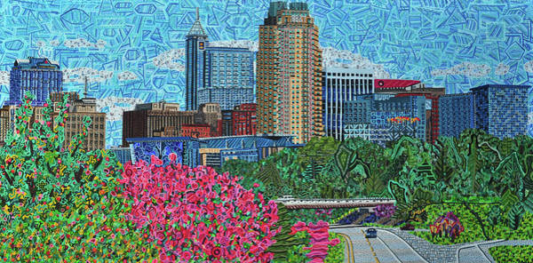 Downtown Raleigh Wall Art - Painting - Downtown Raleigh by Micah Mullen