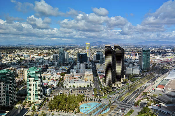 Photograph - Downtown San Diego by Kyle Hanson