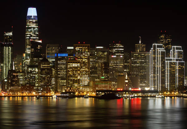 Photograph - Downtown San Francisco Skyline  by Nathan Rupert
