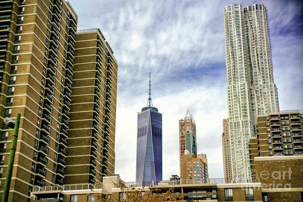 Wall Art - Photograph - Downtown Skyscrapers New York City by John Rizzuto