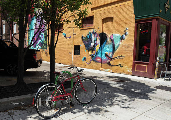 Wall Art - Photograph - Downtown Street Art by Suzanne Gaff