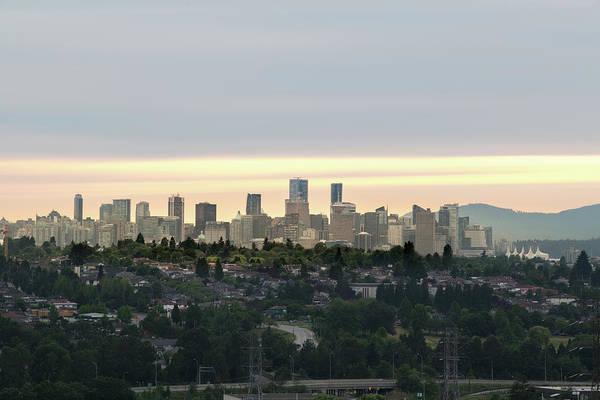 Photograph - Downtown Sunset by Juan Contreras