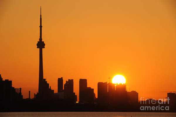 Wall Art - Photograph - Downtown Toronto At Sunrise by Nikola Bilic