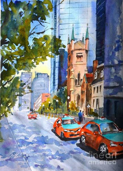 Painting - Downtown Toronto by Betty M M Wong