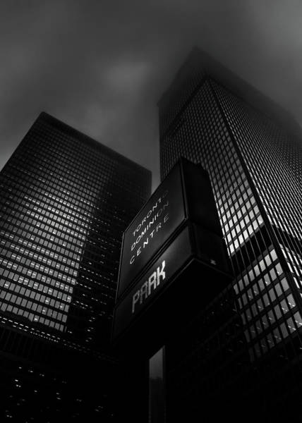 Photograph - Downtown Toronto Fogfest No 15 by Brian Carson