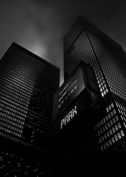 Photograph - Downtown Toronto Fogfest No 16 by Brian Carson