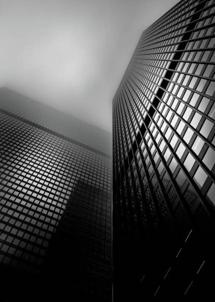 Photograph - Downtown Toronto Fogfest No 27 by Brian Carson
