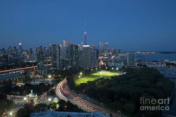 Wall Art - Photograph - Downtown Toronto Skyline At Dusk by Bill Cobb