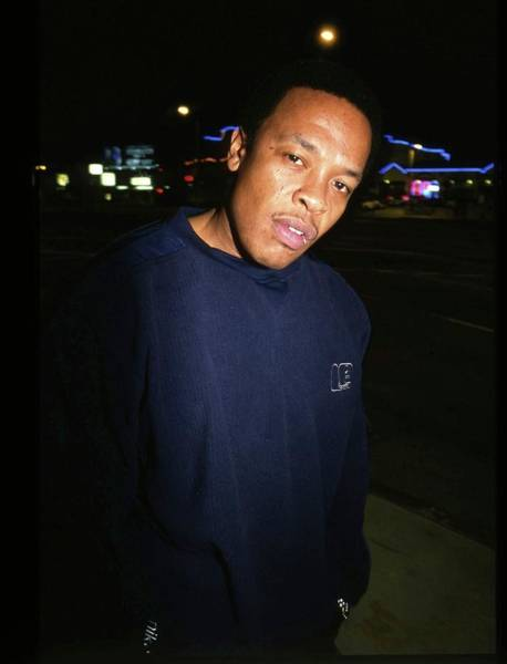 Photograph - Dr Dre by Martyn Goodacre