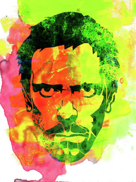 Wall Art - Mixed Media - Dr. Gregory House Watercolor by Naxart Studio