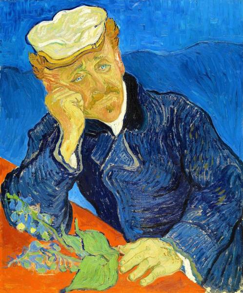Wall Art - Painting - Dr Paul Gachet - Digital Remastered Edition by Vincent van Gogh