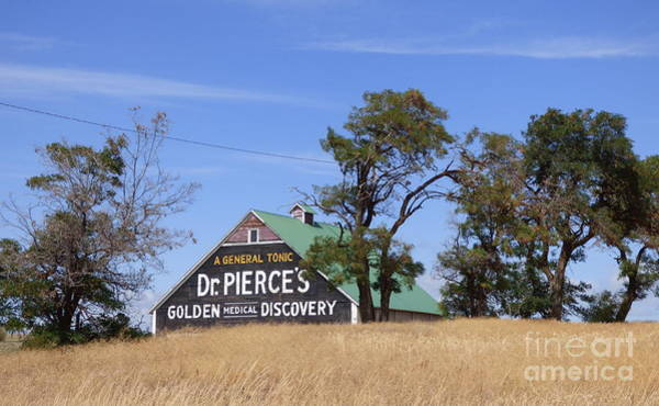 Photograph - Dr. Pierce's Golden Medical Discovery Barn by Charles Robinson