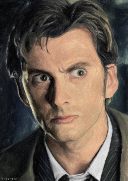 Wall Art - Painting - Dr. Who by Zapista Zapista