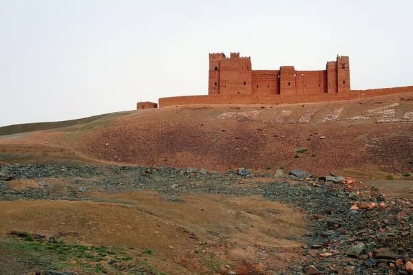 Berber Wall Art - Photograph - Draa Valley Casbah by Robertogennaro