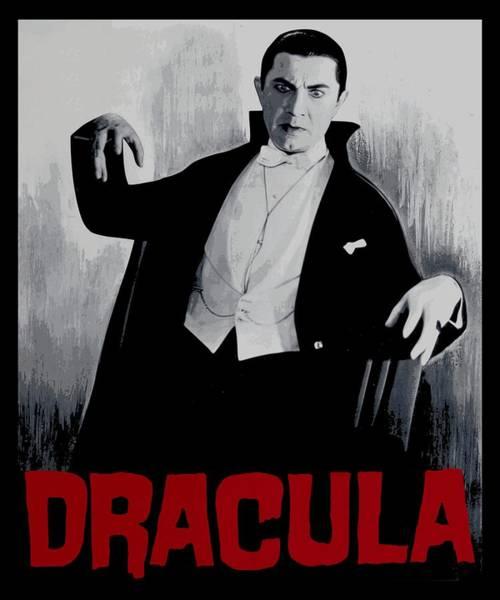 Lagoon Digital Art - Dracula Vitage Poster by Filip Hellman