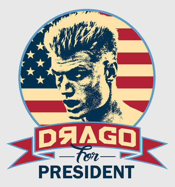 Wall Art - Digital Art - Drago For President by Filip Hellman