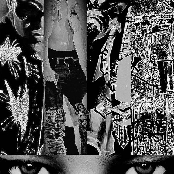 Mixed Media - Dragon Eyes by Ellie Perla