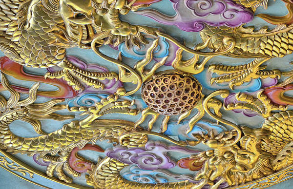 Photograph - Dragon In The Details by JAMART Photography
