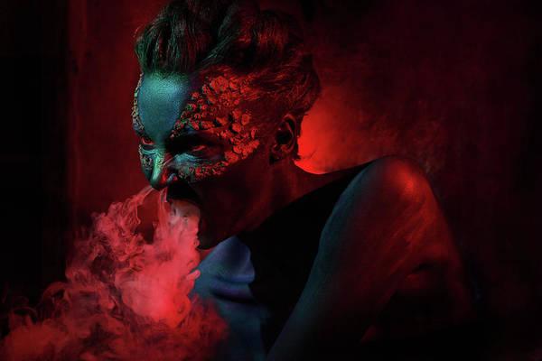 Photograph - Dragon by Ivan Kovalev