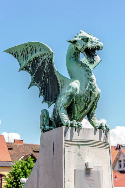 Wall Art - Photograph - Dragons Of Ljubljana by W Chris Fooshee