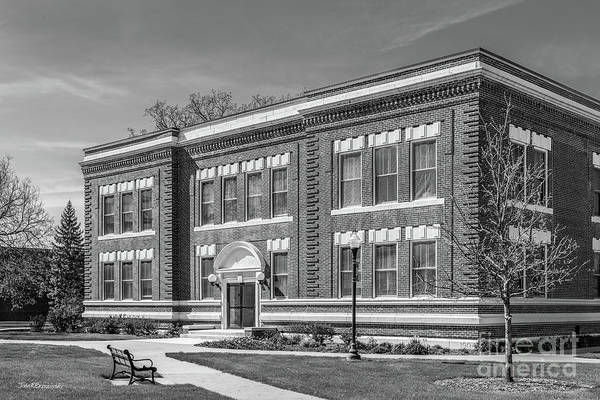 Photograph - Drake University Cole Hall by University Icons
