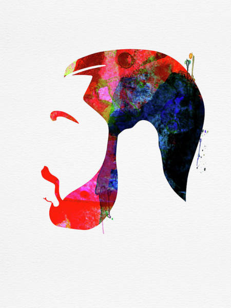Jazz Mixed Media - Drake Watercolor by Naxart Studio