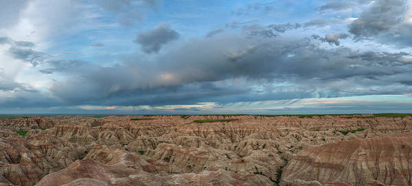 Wall Art - Photograph - Dramatic Badlands Clouds by Joan Carroll