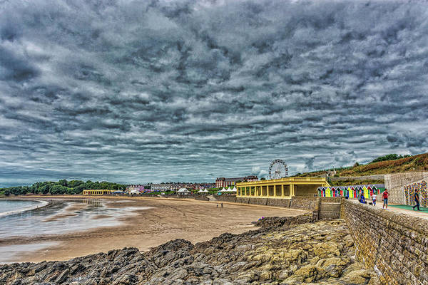 Photograph - Dramatic Barry Island by Steve Purnell