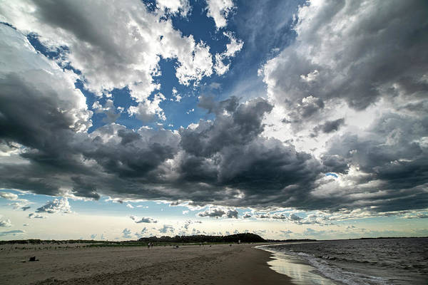 Photograph - Dramatic Clouds Over Crane Beach Ipswich Ma by Toby McGuire