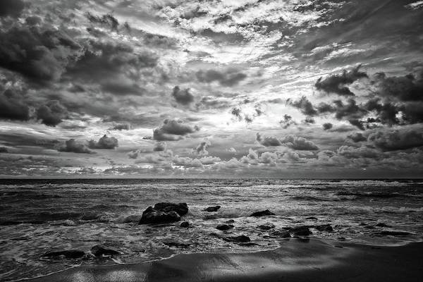 Photograph - Dramatic Seascape by Steve DaPonte