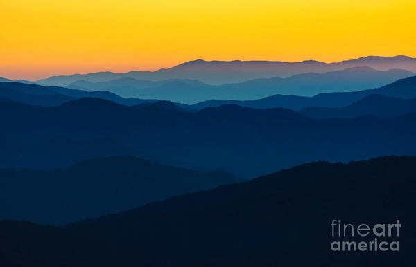 Wall Art - Photograph - Dramatic Sunrise At Great Smokey by Zack Frank