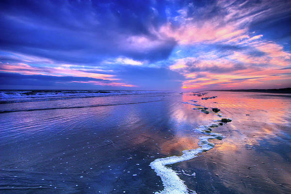 Wall Art - Photograph - Dramatic Sunset On Sunset Beach by Dan Carmichael