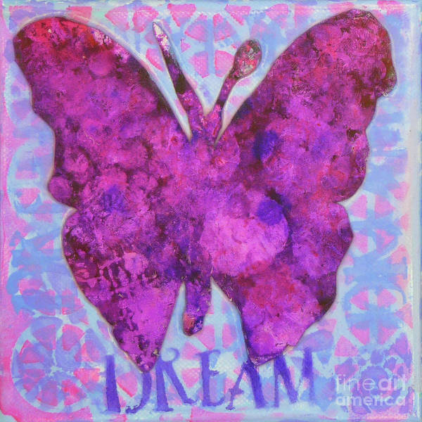 Mixed Media - Dream Butterfly by Lisa Crisman