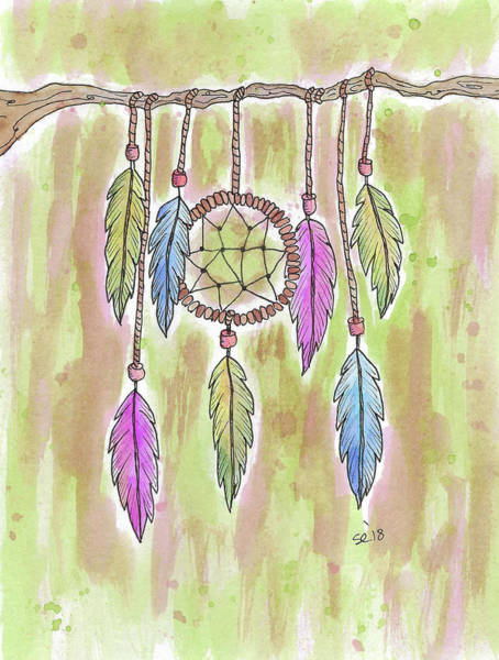 Painting - Dream Catcher by Susan Campbell