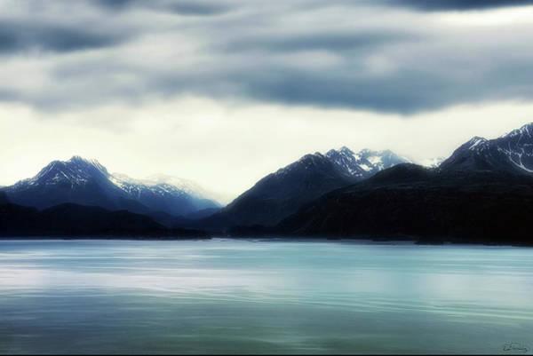 Photograph - Dream Enhanced Kachemak Bay And Kenai Mountain Range by Dee Browning